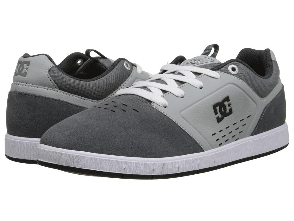 DC - Cole Signature (Grey) Men's Skate Shoes
