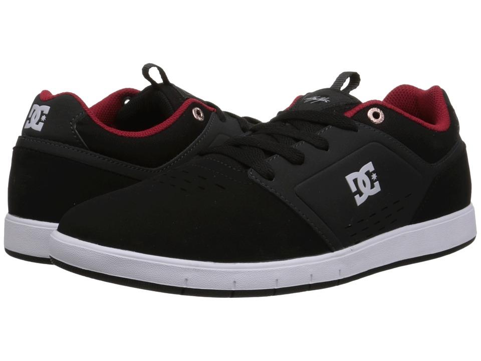 DC - Cole Signature (Black/Red) Men's Skate Shoes