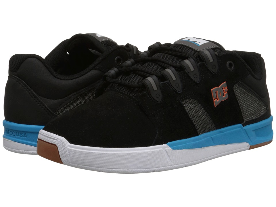 DC - Maddo (Black/Turquoise) Men's Skate Shoes
