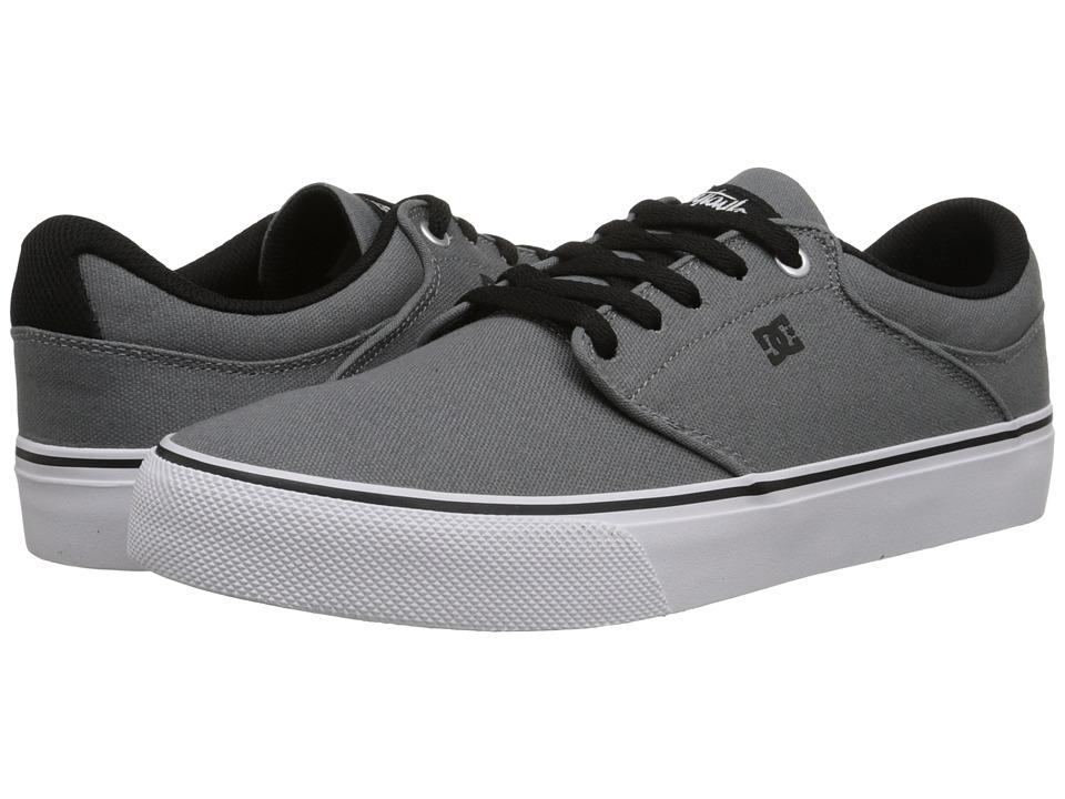 DC - Mikey Taylor Vulc TX (Light Grey/Black) Men's Skate Shoes