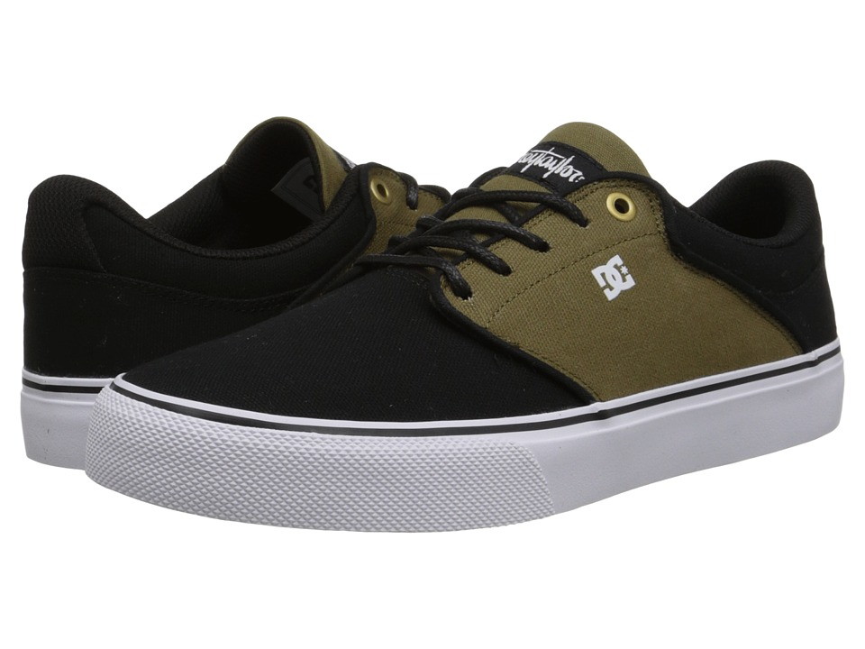 DC - Mikey Taylor Vulc TX (Olive/Black) Men's Skate Shoes