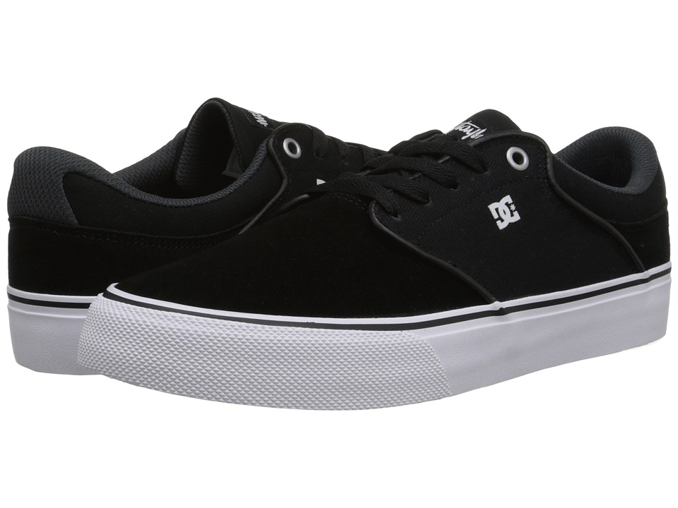 DC - Mikey Taylor Vulc (Black/White/Grey) Men's Skate Shoes