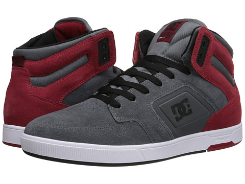 DC - Nyjah HI SE (Grey/Dark Red) Men
