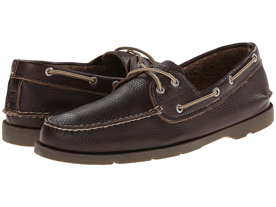 Sperry - Leeward 2-Eye Relaxed (Brown) Men's Shoes