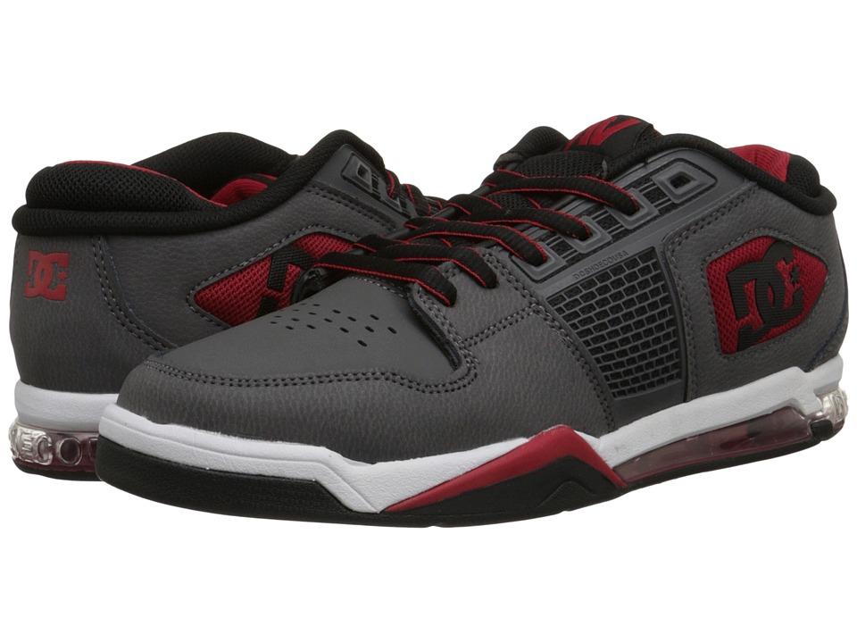 DC - Ryan Villopoto (Grey/Black/Red) Men's Skate Shoes