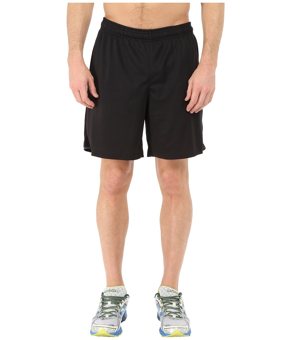 New Balance - Knit Training Shorts (Black) Men's Shorts