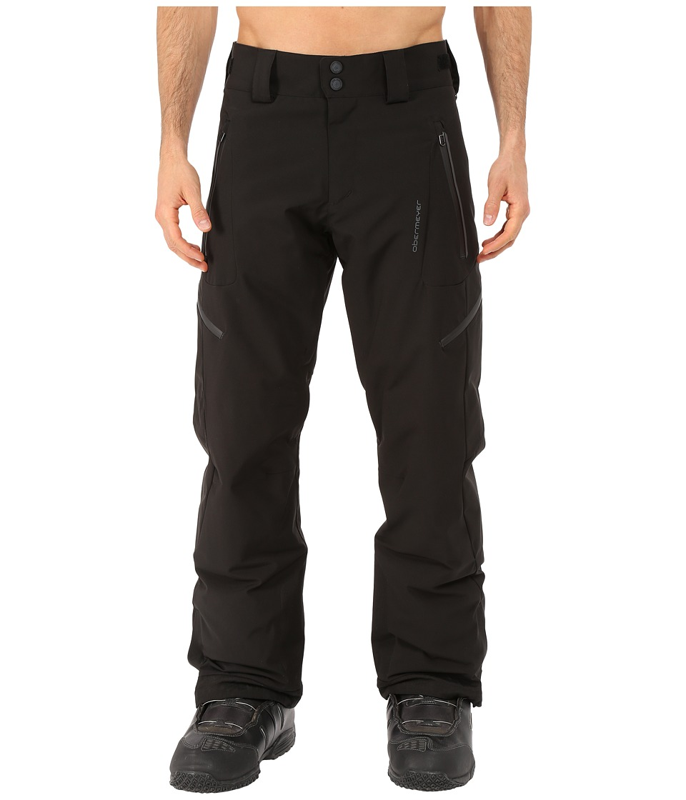 Obermeyer - Process Pants (Black) Men's Outerwear