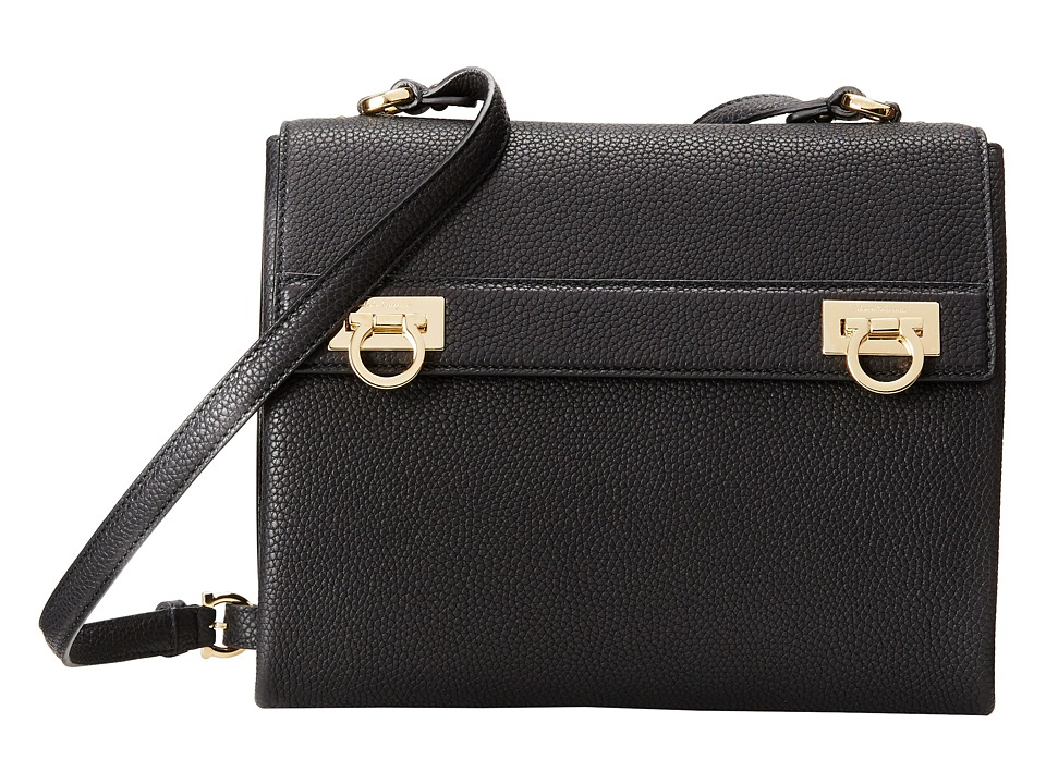 Salvatore Ferragamo - 21F275 Mya (Nero) Cross Body Handbags