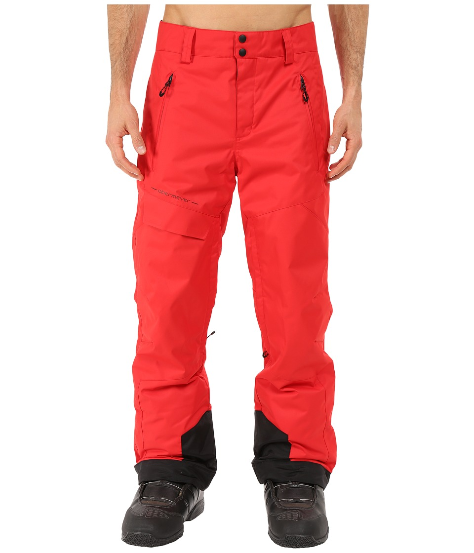 Obermeyer - Quantum Pants (True Red) Men's Casual Pants