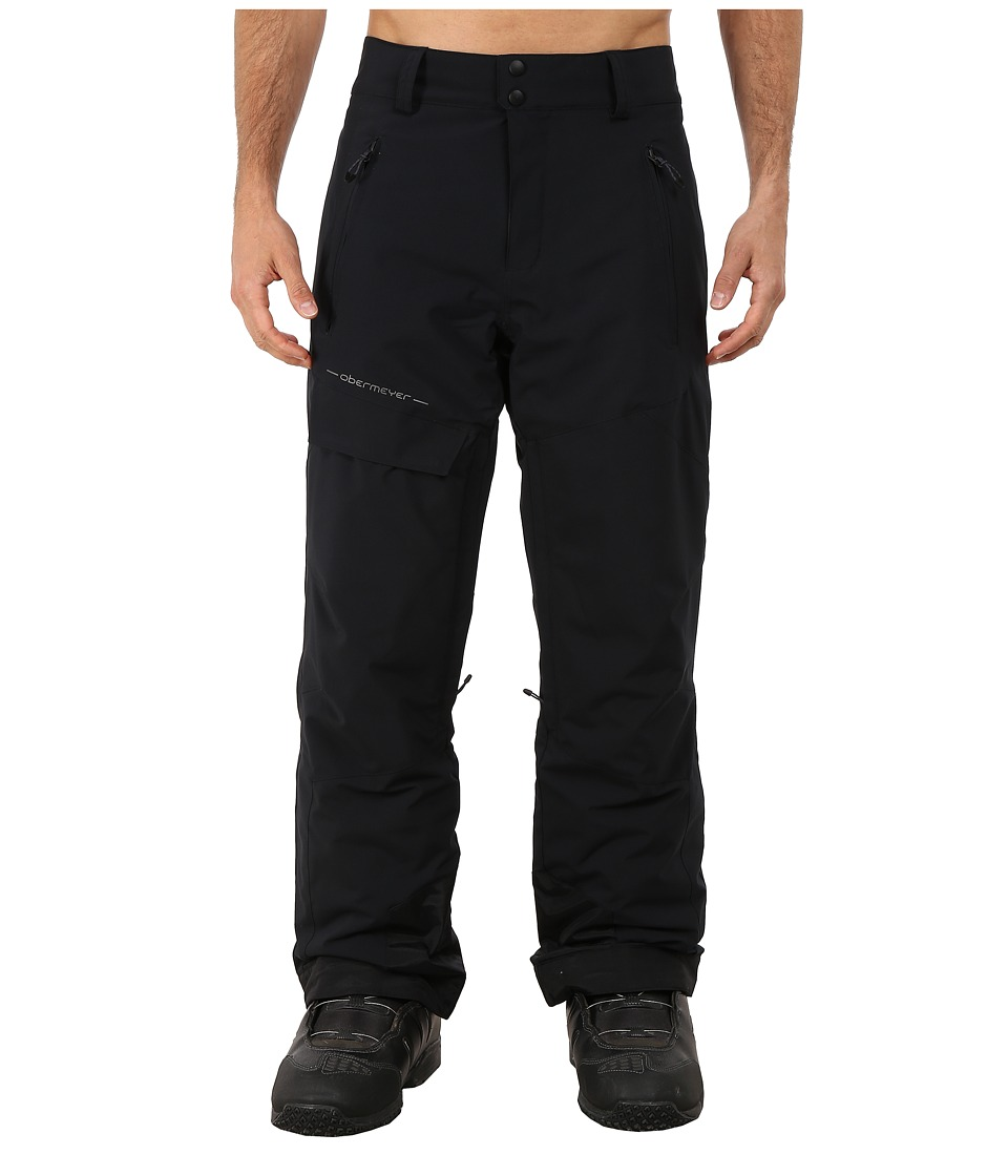 Obermeyer - Quantum Pants (Black) Men's Casual Pants