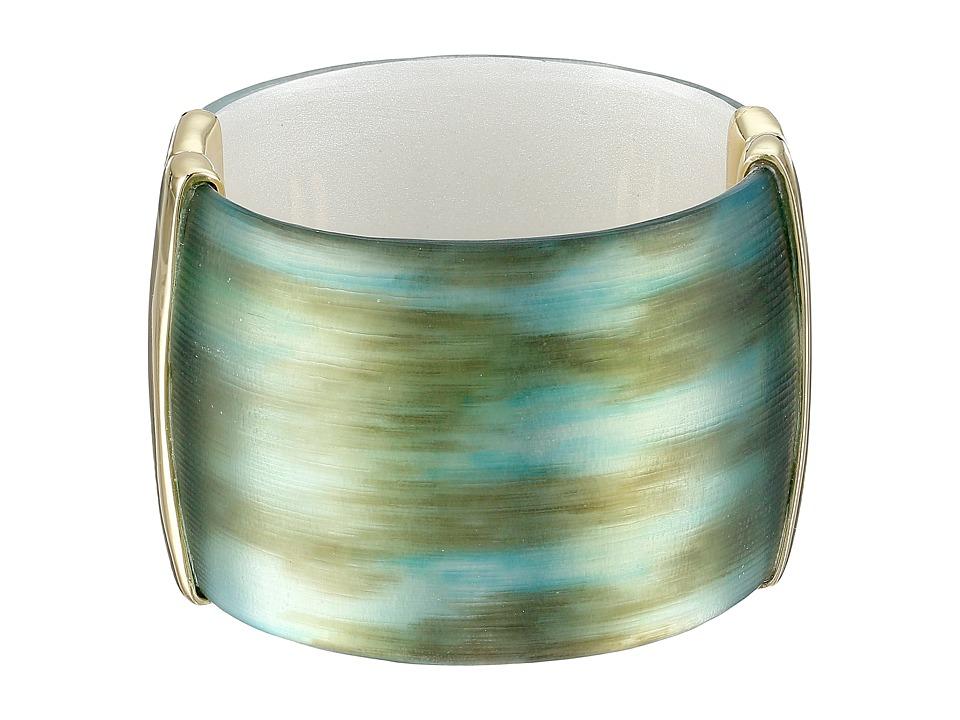 Alexis Bittar - Liquid Metal Hinge Bracelet (Marbleized Aqua) Bracelet