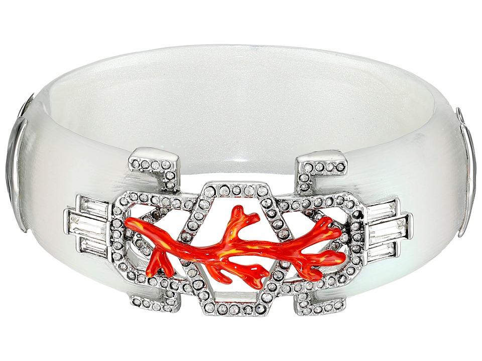 Alexis Bittar - Enamel Studded Bedarra Hinge Bracelet (Moonstone) Bracelet