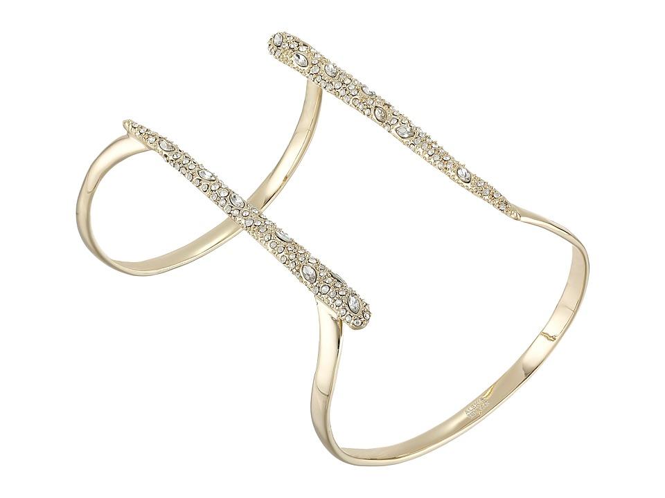 Alexis Bittar - Encrusted Parallel Cuff Bracelet (10K Gold) Bracelet