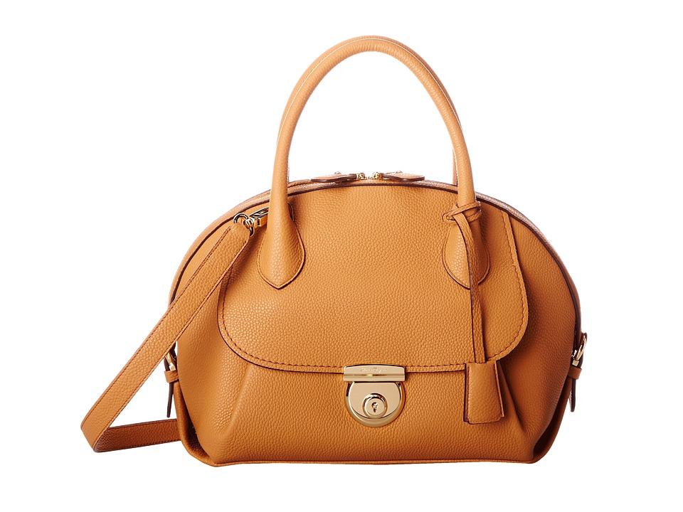 Salvatore Ferragamo - 21E770 Fiamma (Sienne) Satchel Handbags