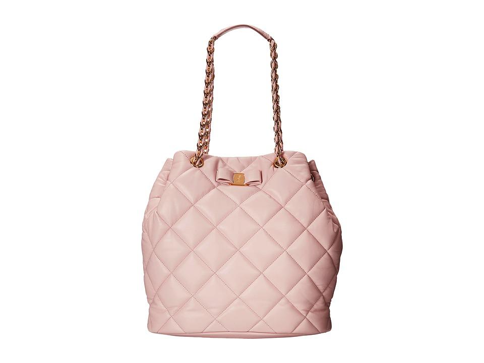 Salvatore Ferragamo - 21E974 Genny (Macaron) Tote Handbags