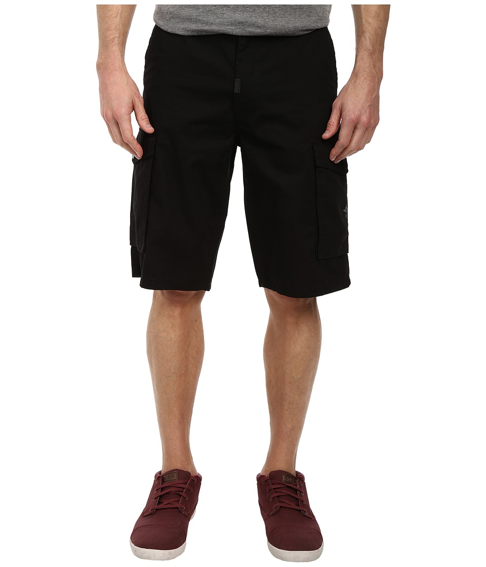 L-R-G - RC Classic Cargo Shorts (Black) Men