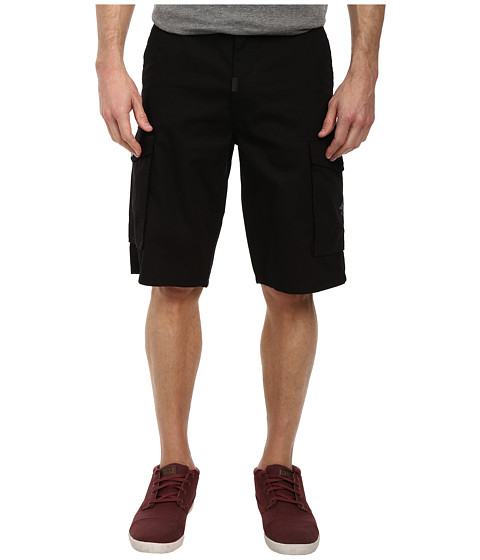 L-R-G - RC Classic Cargo Shorts (Black) Men's Shorts