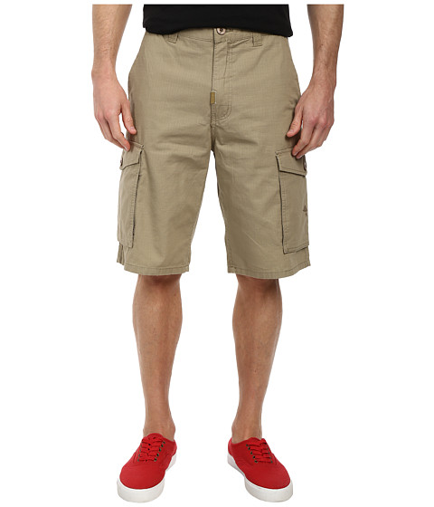 L-R-G - RC Classic Cargo Shorts (British Khaki) Men's Shorts