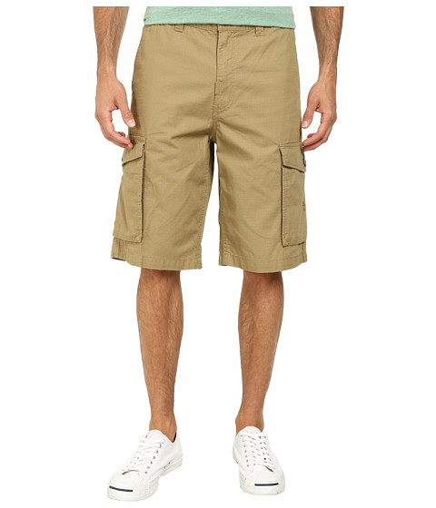 L-R-G - RC Classic Cargo Shorts (Dark Khaki) Men's Shorts