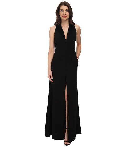 JILL JILL STUART - Tuxedo Gown w/ Shorts (Black) Women's Dress