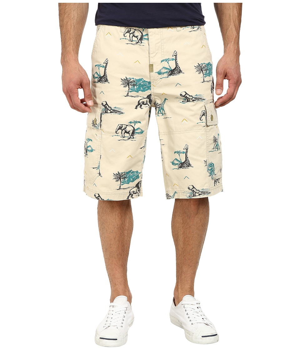L-R-G - RC Classic Cargo Shorts 2 (Stone) Men's Shorts