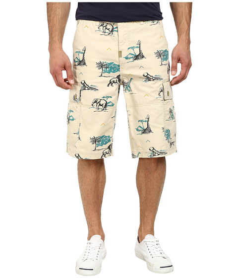 L-R-G - RC Classic Cargo Shorts 2 (Stone) Men