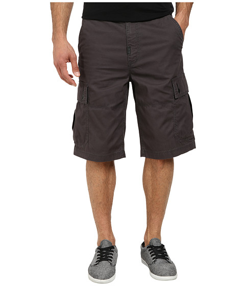 L-R-G - RC Classic Cargo Shorts 2 (Dark Charcoal) Men's Shorts