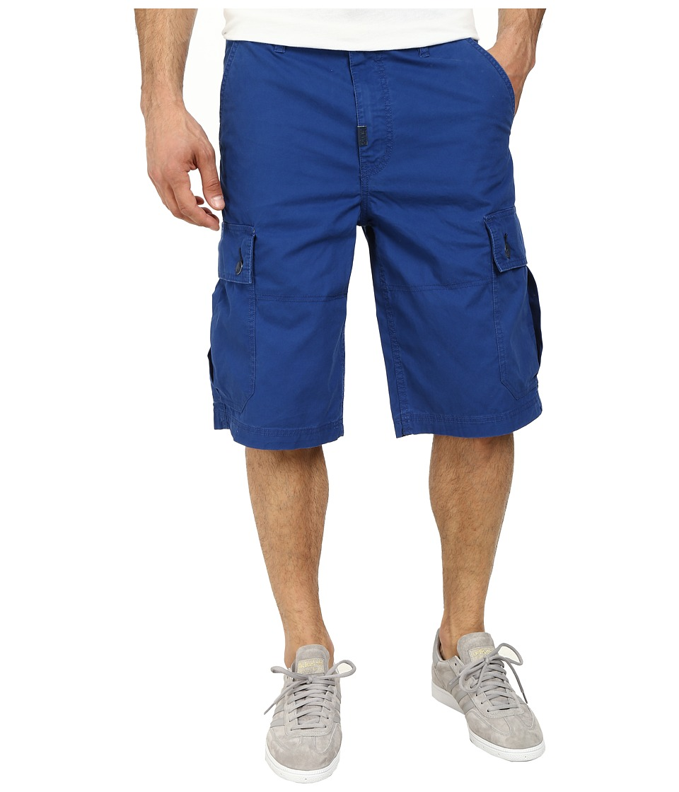L-R-G - RC Classic Cargo Shorts 2 (Gibson Blue) Men's Shorts