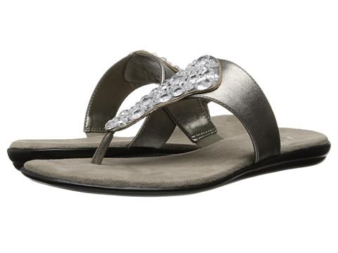 Aerosoles - Ultra Chlear (Silver) Women's Toe Open Shoes