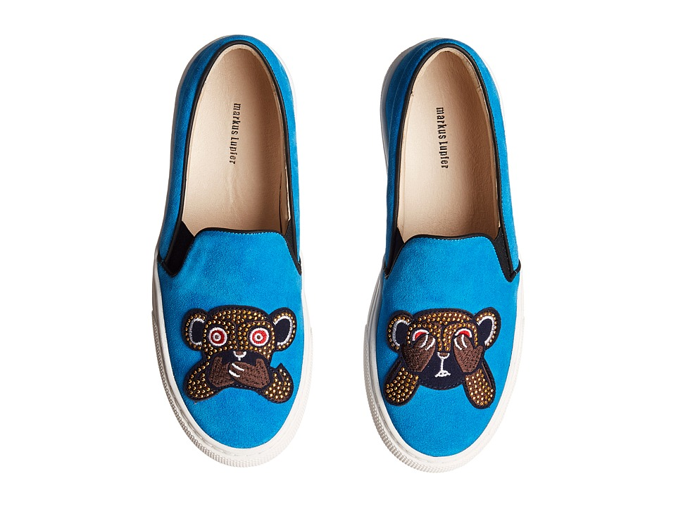 Markus Lupfer - ML092 (Turquoise Crosta Monkey Face) Women's Shoes