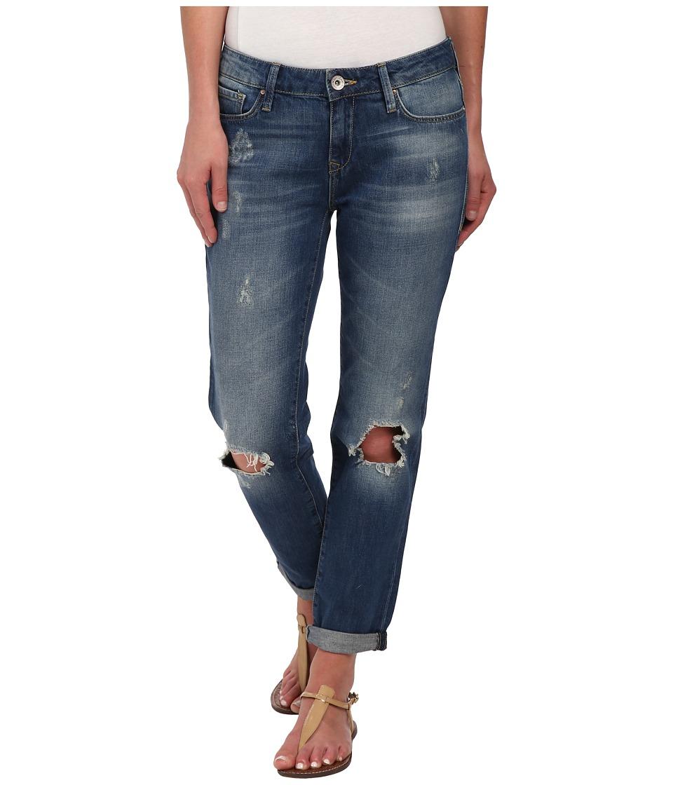 Mavi Jeans Ada Relaxed Boyfriend in Dark R-Vintage (Dark R-Vintage) Women