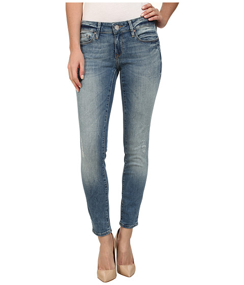 Mavi Jeans - Serena Ankle Low Rise Super Skinny Ankle in Used Nolita (Used Nolita) Women