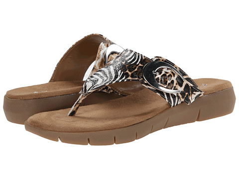 Aerosoles - A2 by Aerosoles Wipline (Safari Print) Women's Sandals