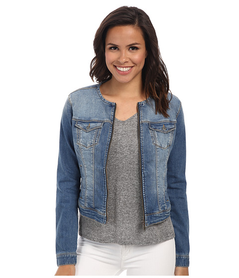 Mavi Jeans - Claire Collarless Fitted Jacket (Light) Women