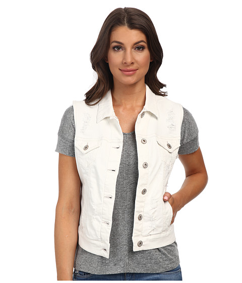 Mavi Jeans - Jodi Denim Vest (Used White) Women's Vest
