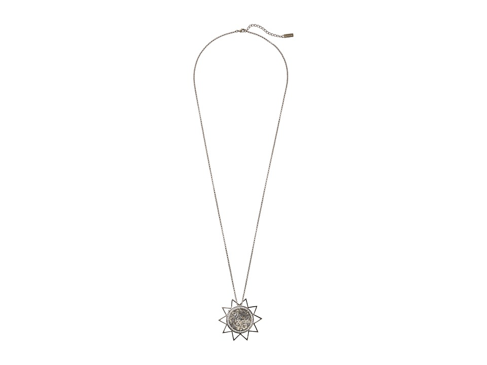 Nina - Petra Necklace (Silver/Crystal) Necklace