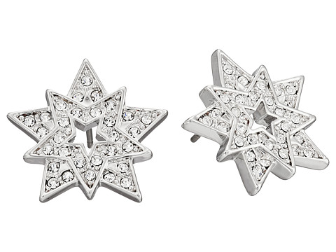 Nina - Astor Earrings (Silver/Crystal) Earring