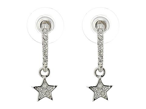Nina - Edina Earrings (Silver/Crystal) Earring