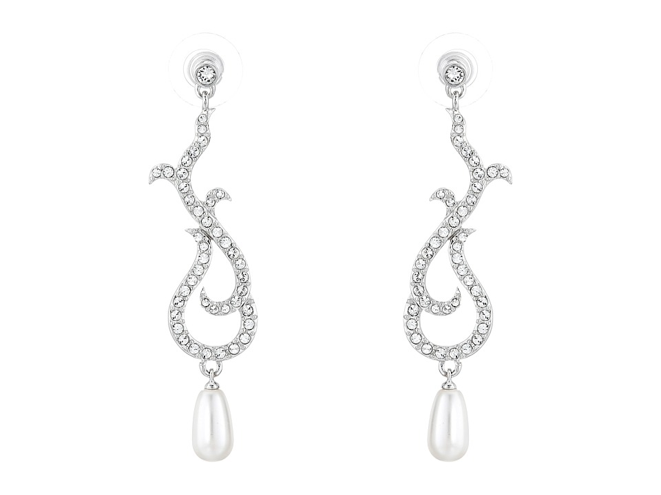 Nina - Dovie Earrings (Ivory/Crystal) Earring
