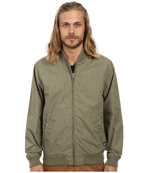Obey - Attendant Jacket (Heather Army) Men's Coat