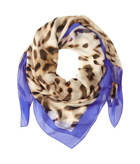 Vince Camuto - Soft Animal (Dazzling Blue) Scarves
