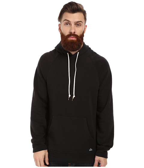Obey - Lofty Creature Comforts Pullover Hood Sweatshirt (Black) Men