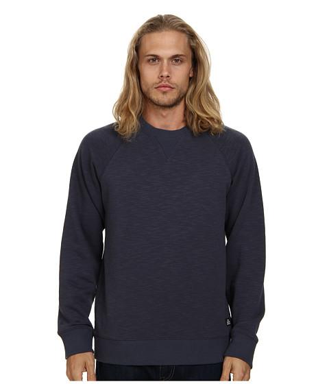 Obey - Hyperion Crew (Indigo) Men's Long Sleeve Pullover