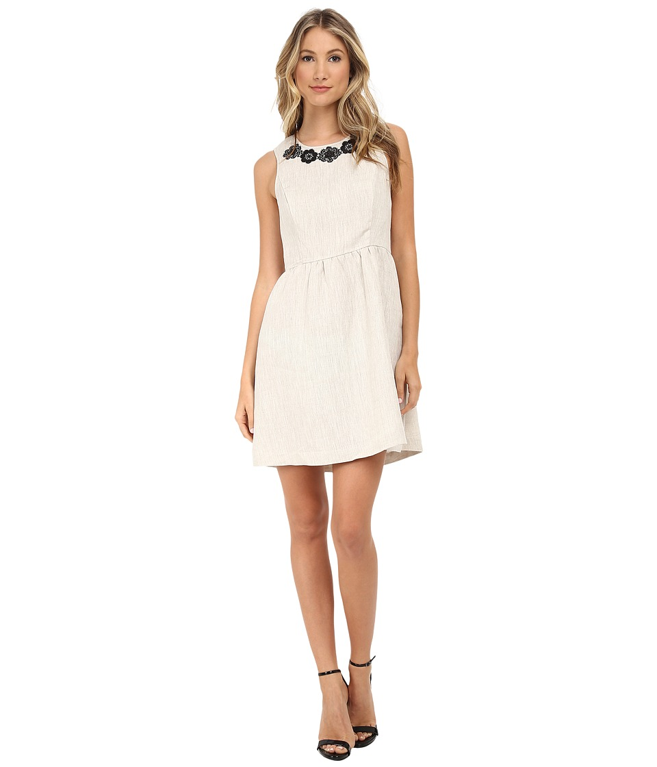 kensie - Linen Dress KS5K7566 (Linen Combo) Women's Dress