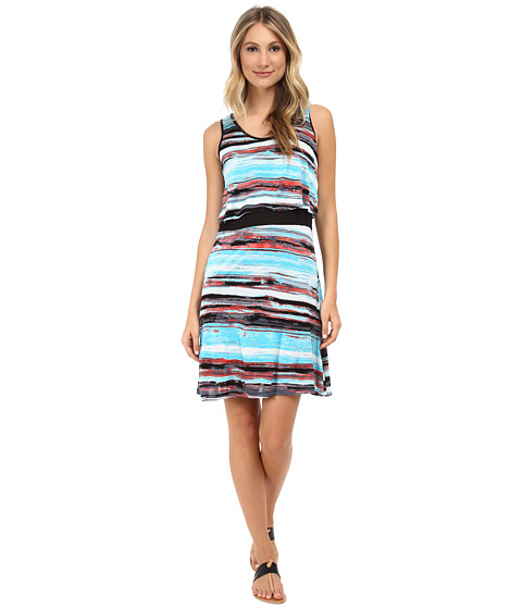 kensie - Paint Streaks Dress KS5K7561 (Wave Combo) Women