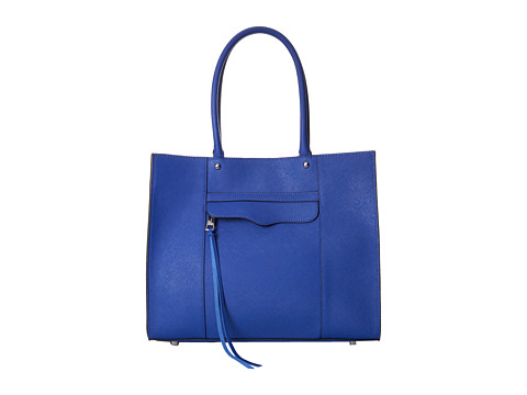 Rebecca Minkoff - Medium Mab Tote (Majorca Blue) Tote Handbags