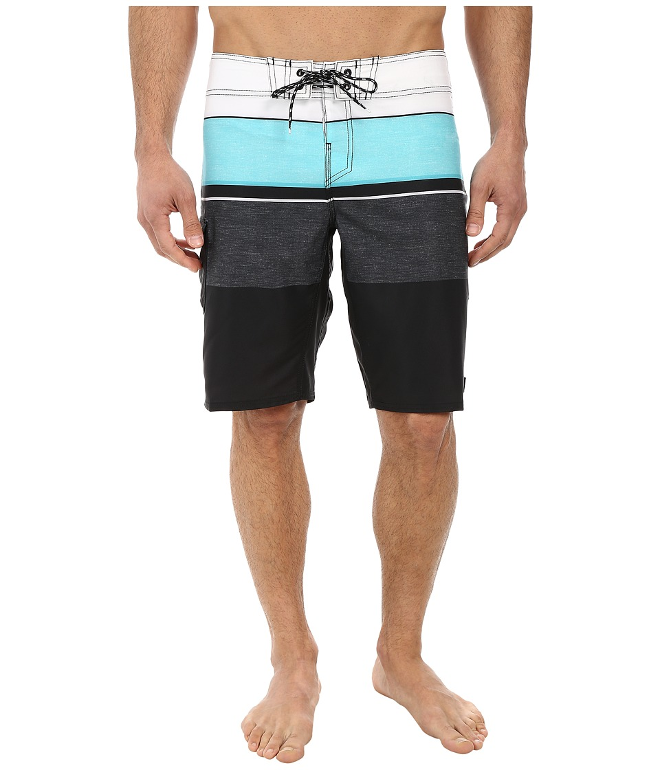 Reef - Chu-Srin Boardshorts (Black) Men