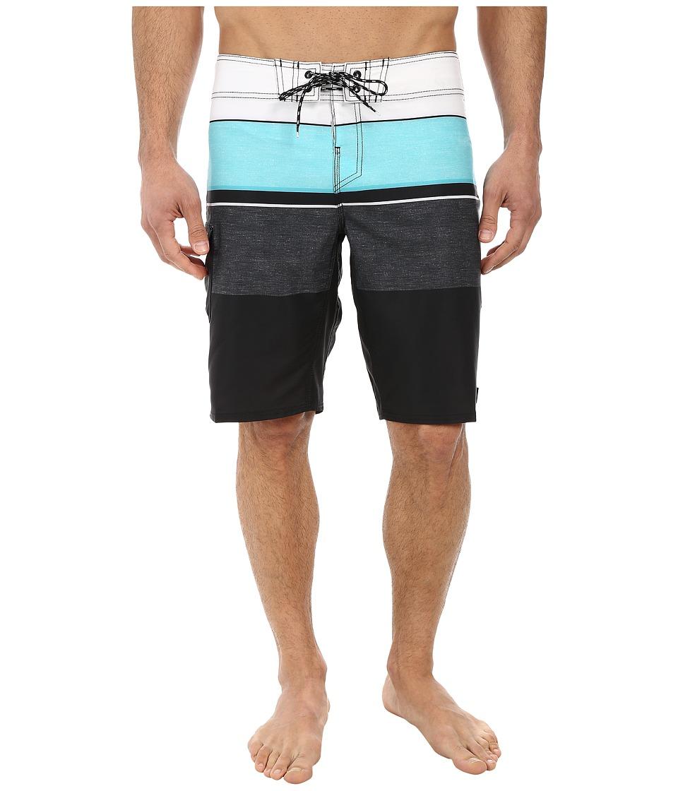 Reef - Chu-Srin Boardshorts (Black) Men's Swimwear