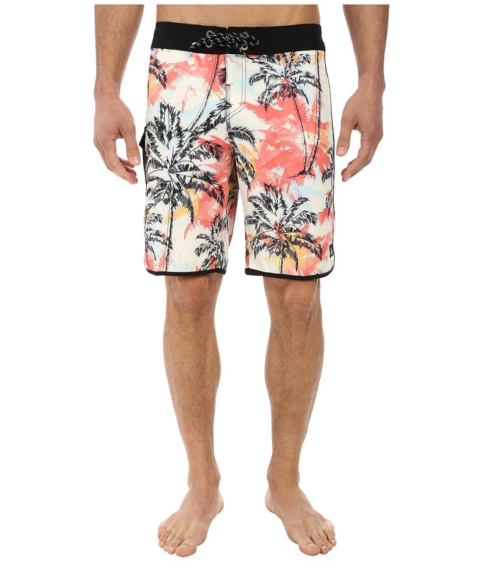 Reef - Mar Boardshorts (Orange) Men's Swimwear