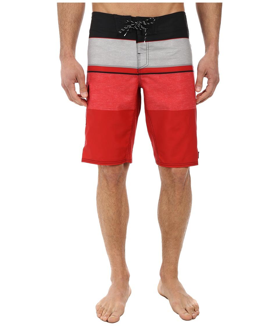 Reef - Chu-Srin Boardshorts (Red) Men's Swimwear